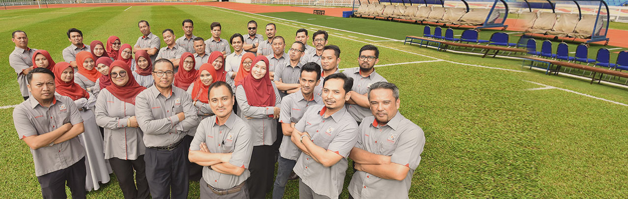 DEFM managed Komplek Generasi Muda & Sukan Negeri Selangor, Kompleks Sukan Shah Alam Seksyen 13 (KSSA), Shah Alam's Stadiums, Extreme Park & Aquatic Centre.