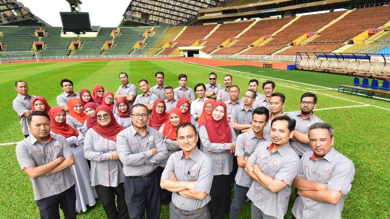 DEFM Managed Komplek Generasi Muda & Sukan Negeri Selangor.